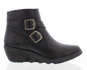 Fly London Perz914FLY Black Womens Stylish Comfort Ankle Boots