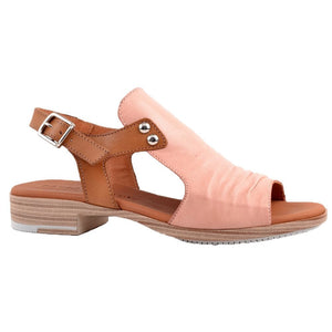 Paula Urban Vacuno Nude Womens Casual Comfort Leather Open Toe Sandals