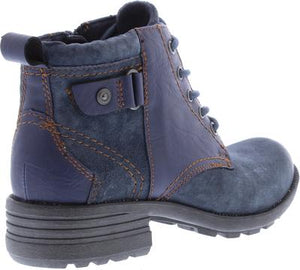 Earth Spirit Paxton Navy Womens Casual Comfort Ankle Boots