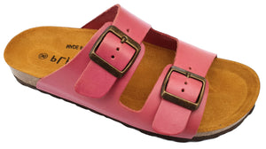 Plakton Vaquetilla Radiant Ordino 100010 Womens Leather Casual Buckle Sandals