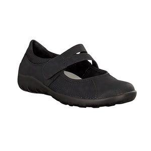 Remonte R3510-02 Black Womens Casual Comfort Touch Fastening Shoes
