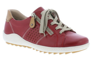 Remonte R1417-33 Red Womens Casual Comfort Leather Shoes