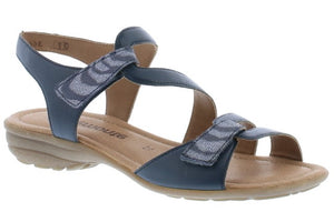 Remonte R3662-14 Blue Womens Casual Comfort Sandals