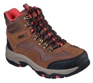 Skechers 167008/TAN Tan Womens Casual Comfort Lace Up Walking Boots