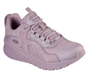 Skechers 117017/MVE Mauve Womens Casual Comfort Lace Up Trainers
