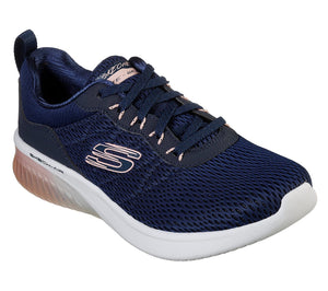 Skechers 13290 NVPK Womens Sporty Comfort Trainers