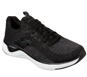 Skechers 13328/BKW Black Womens Sporty Leisure Trainers