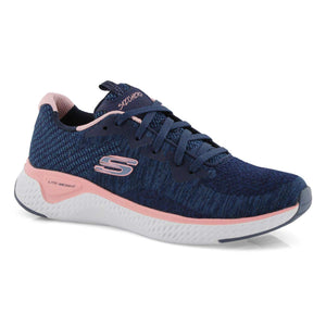 Skechers 13328/NVPK Navy Womens Sporty Leisure Trainers