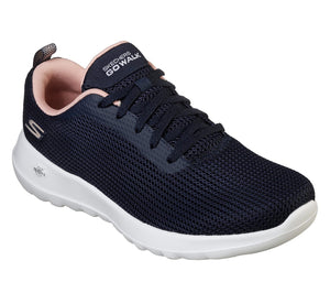 Skechers 15641/NVPK Navy Womens Casual Sporty Trainers