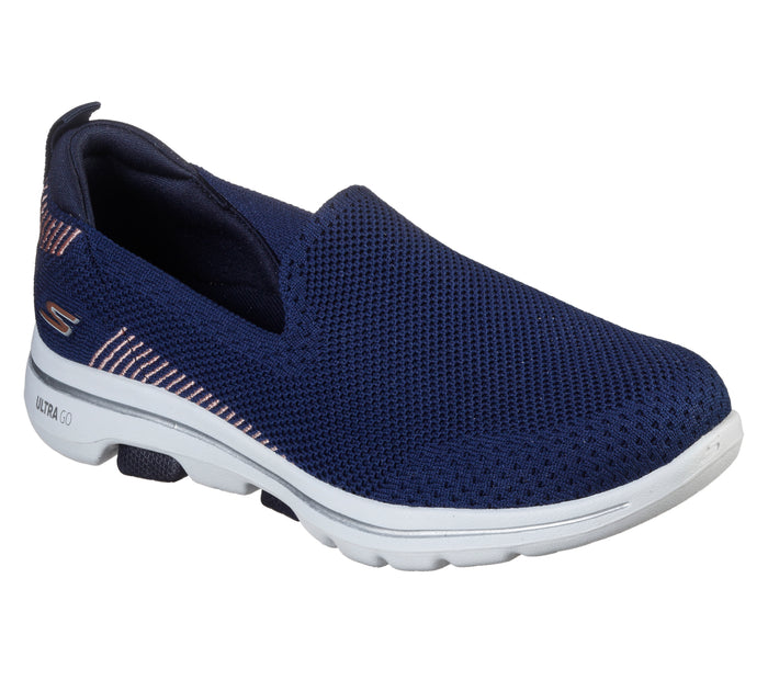 Skechers 15900/NVY Navy GOWALK 5™ Womens Casual Comfort Slip On Shoes