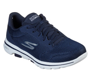 Skechers 15902/NVW Navy Womens Casual Comfort Lace Up Trainers