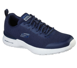 Skechers 232007/NVY Navy Mens Casual Comfort Lace Up Trainers