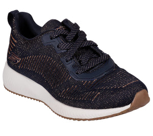 Skechers 31347 DKNV Dark Navy Womens Knit Fabric Stylish Sporty Trainers