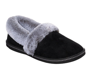 Skechers 32777/BLK Black Womens Soft Slip On Slippers