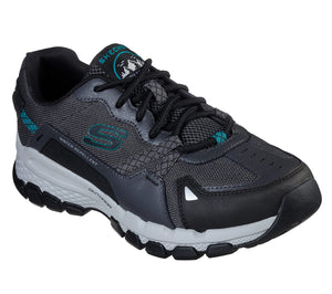Skechers 51589/CCBK Charcoal Mens Casual Water Repellent Hiking Shoes