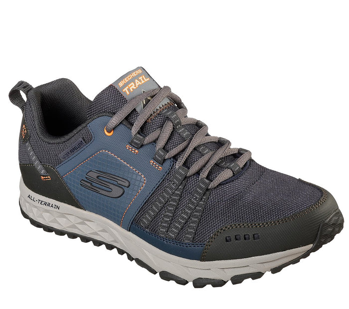 Skechers 51591/NVOR Navy Mens Casual Walking Hiking Trail Shoes