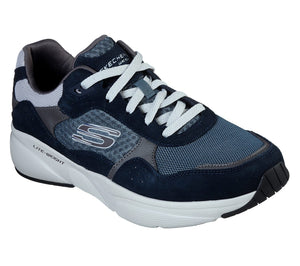 Skechers 52952 NVBL Navy Blue Mens Casual Sporty Comfort Trainers