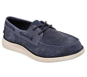 Skechers 65894 NVY Navy Mens Casual Comfort Boat Shoes