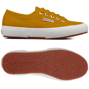 Superga 2750 COTU Classic Yellow Golden Womens Casual Comfort Canvas Trainers