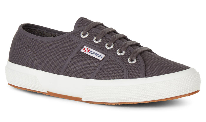 Superga 2750 Cotu Classic Dark Grey Iron Womens Casual Stylish Canvas Shoes