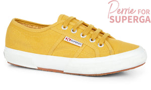 Superga 2750 Cotu Classic Yellow Senape Womens Casual Stylish Canvas Shoes