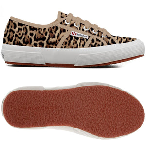 Superga 2750 Fantasy COTU Beige/Jaguar Womens Casual Comfort Trainers