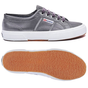 Superga 2750 MICROLAMEW Gun Metal Matt Womens Casual Comfort Trainers