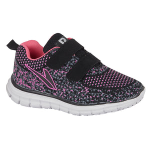 DEK T546AM Black/Pink Unisex Casual Comfort Trainers