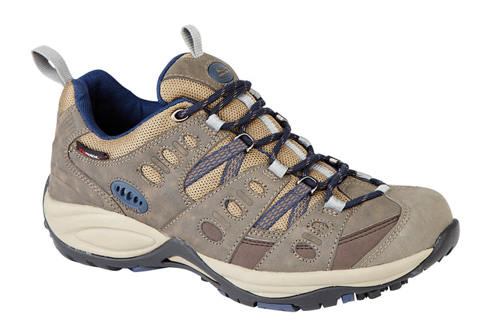 Johnscliffe T746BY Brown/Navy Unisex All Terrain Walking Shoes