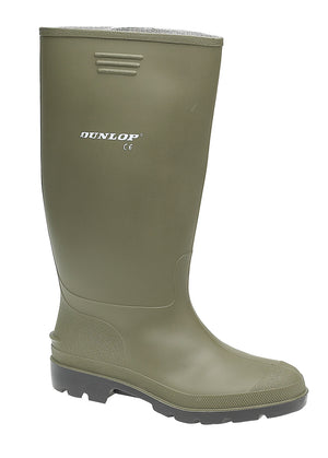 Dunlop W197E Pricemastor Green PVC Wellingtons