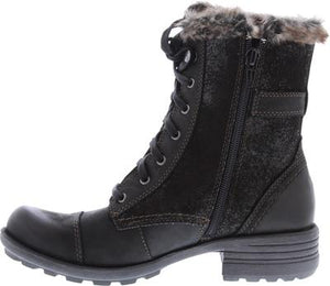 Earth Spirit Wexford Black Womens Casual Comfort Ankle Boots