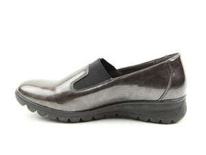 Heavenly Feet Naples Pewter Ripple Womens Casual Comfort Shoes