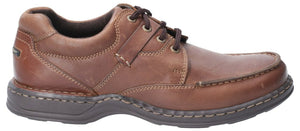 Hush Puppies Randall II Brown Mens Casual Comfort Lace Up Leather Shoes