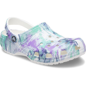 Crocs Classic Multi Out Of This World Clog Casual Slip On Shoes Lightweight Beach
