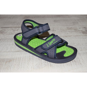 Jaywalker Polzeath Sandal – Navy/Lime