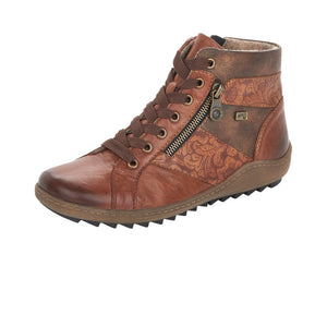 Remonte R1497-22 Brown Womens Casual Comfort Ankle Boots
