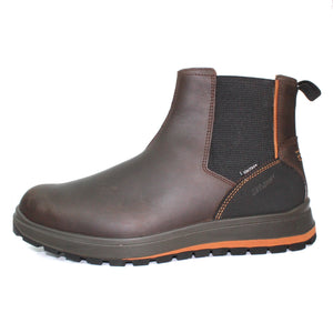 Grisport Slate Brown Mens Casual Comfort All Terrain Chelsea Boots