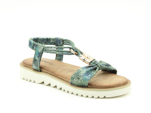 Heavenly Feet Lily Ocean Ladies Casual Comfort Sandals