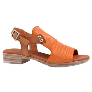 Paula Urban Vacuno Tan/Melocoton Womens Casual Comfort Leather Open Toe Sandals