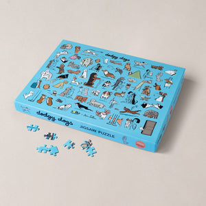 NEW! Dodgy Dogs Jigsaw Puzzle