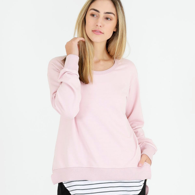 3rd Story Ulverstone sweater- Marshmellow