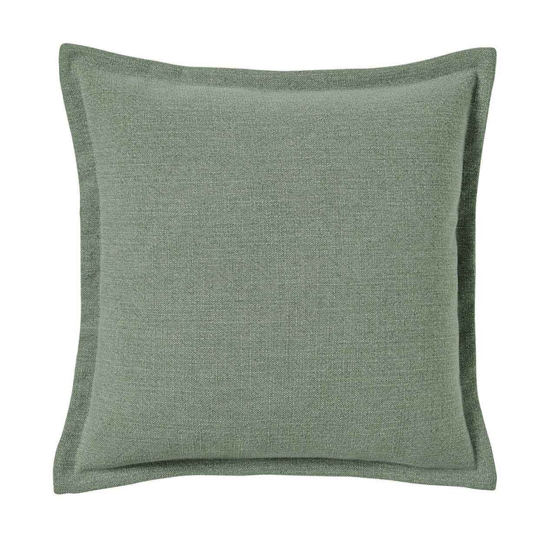 Weave Home- Austin Jade Linen blend cushion
