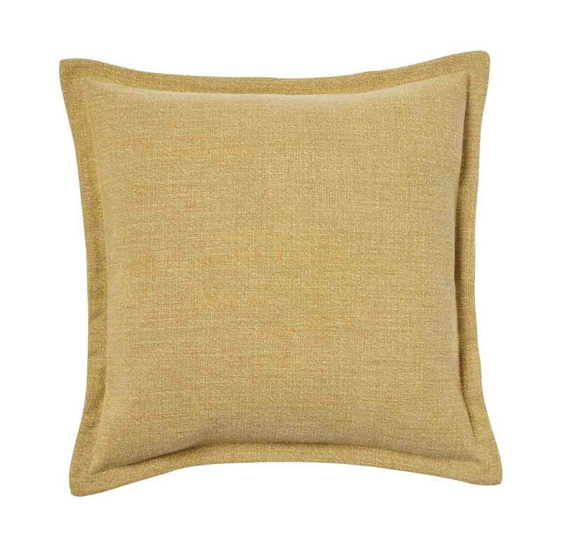 Weave Home- Austin Mustard Linen blend cushion