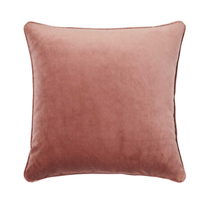 Weave Home- Zoe Blush Velvet cushion