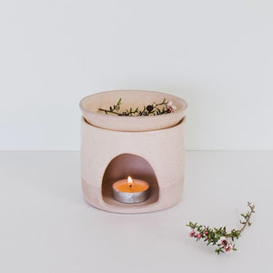 JS ceramics Oil burner- Handmade in New Zealand