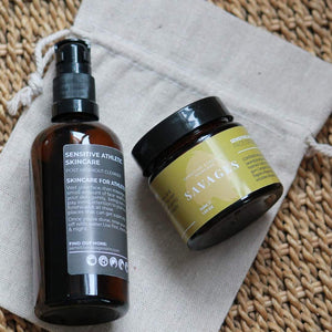 Sensitive Savages Athletic Skincare range