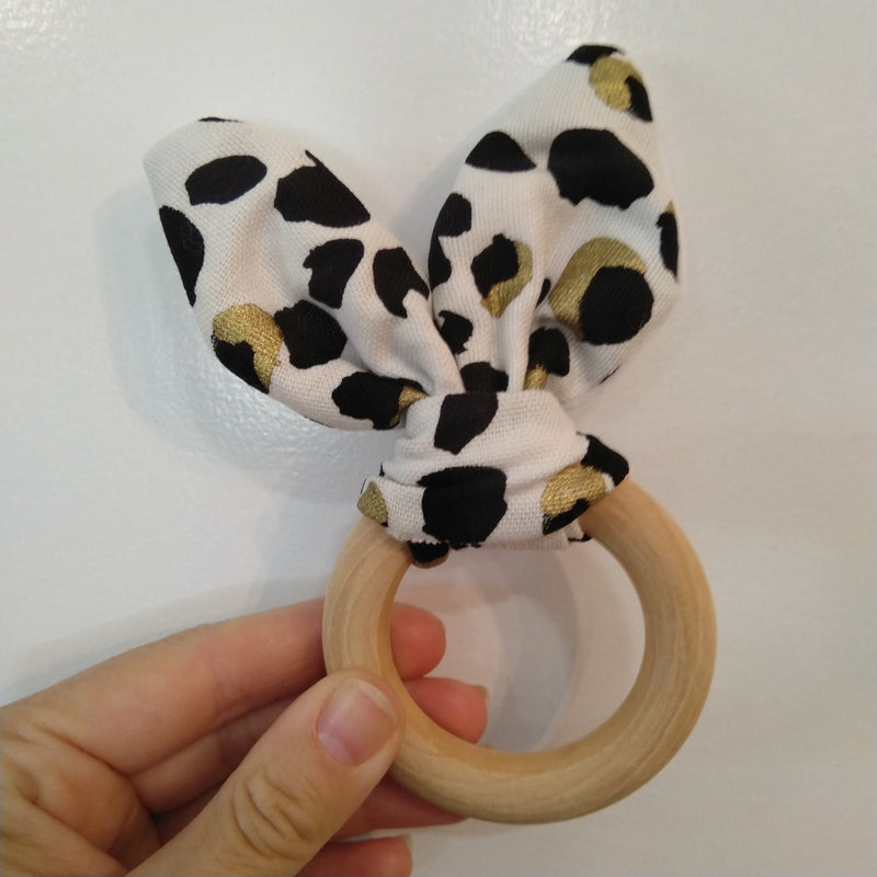 luxe 'caro with love' handmade teething rings
