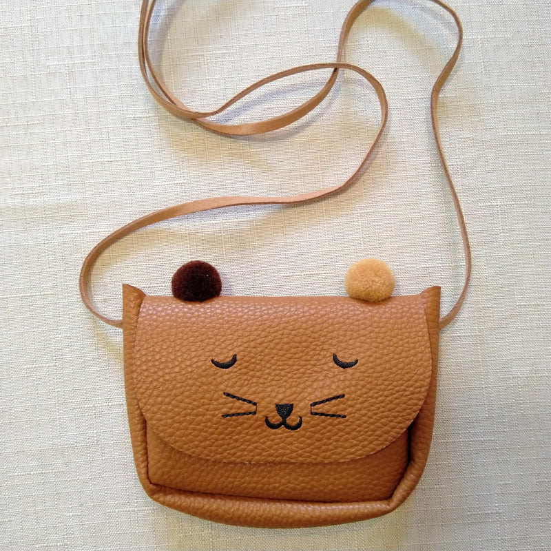 Cat pompom purse- coming soon!