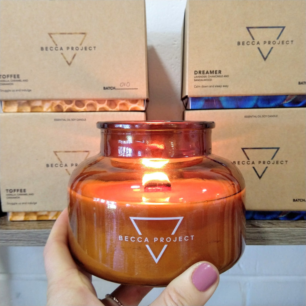 Becca Project Candles