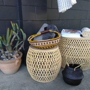 Rattan Woven Bulb Coffee Table